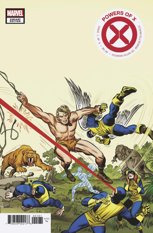 Powers of X (2019) #1 (of 6) Jack Kirby Hidden Gem Variant