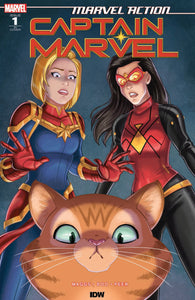 Marvel Action: Captain Marvel (2019) #1 (of 3) Brianna Garcia Variant