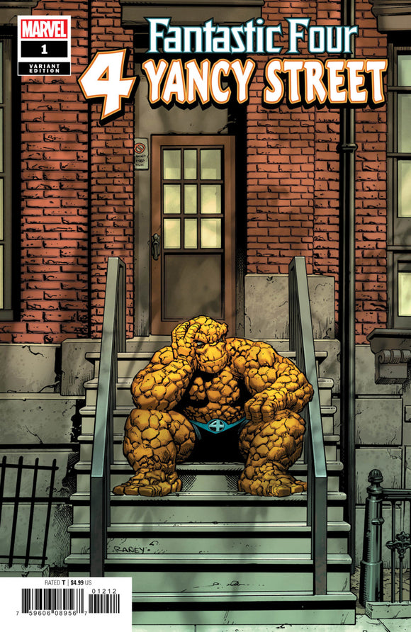Fantastic Four 4 Yancy Street (2019) # 1 Tom Raney Variant