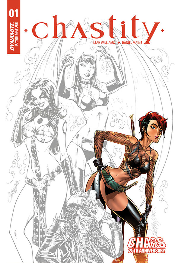 Chastity (2019) # 1 J. Scott Campbell 1:10 Carve Variant
