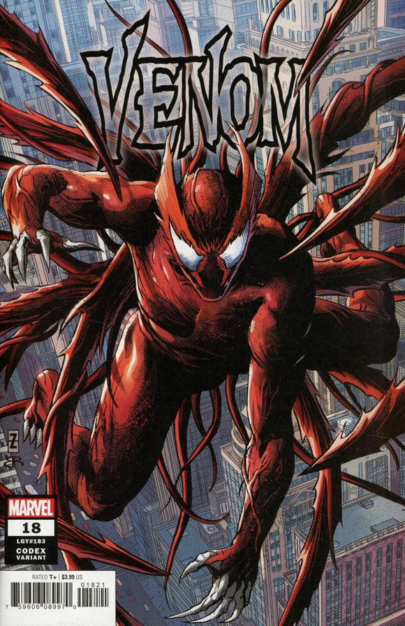 Venom (2018) #18 Patrick Zircher Codex Variant