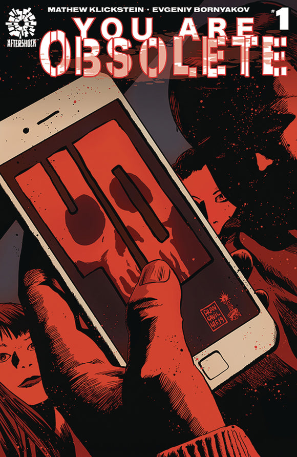 You Are Obsolete (2019) #1 Francesco Francavilla Variant