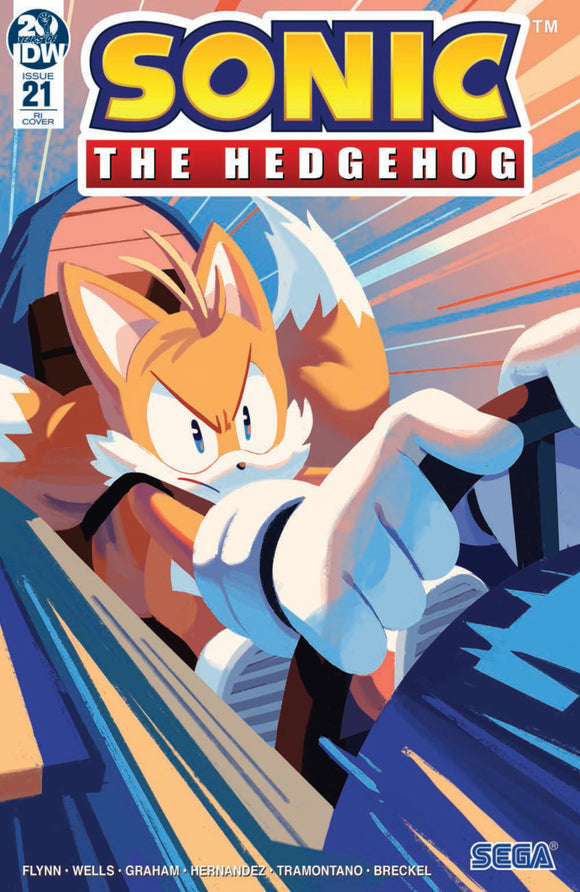 Sonic the Hedgehog (2018) #21 Nathalie Fourdraine Variant