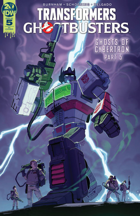 Transformers/Ghostbusters (2019) #5 (of 5) Evan Stanley Variant