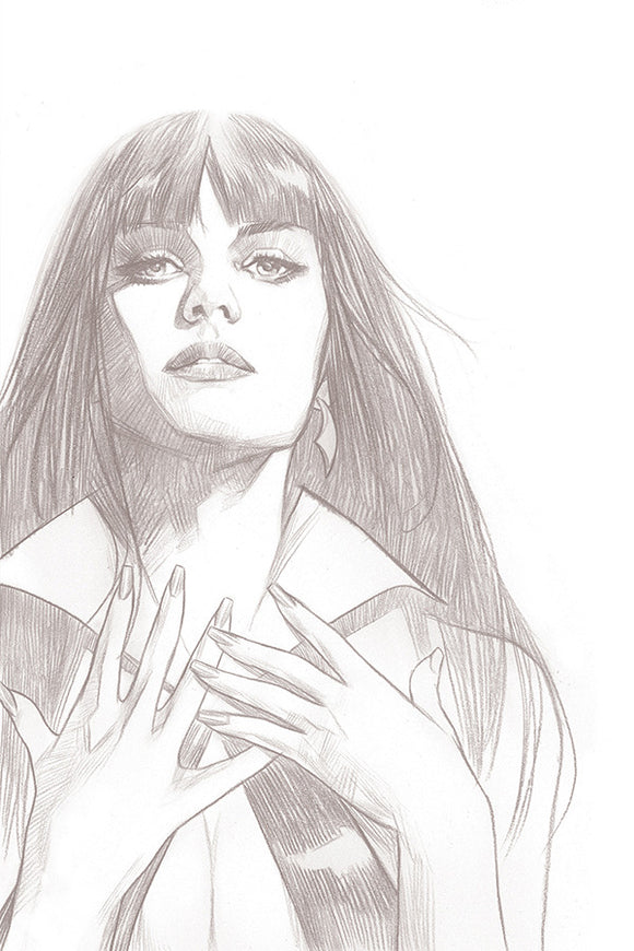 Vengeance of Vampirella (2019) # 1 Ben Oliver B&W Sketch Virgin Variant