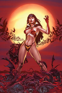 Vengeance of Vampirella (2019) # 1 Buzz Blood Moon Virgin Variant