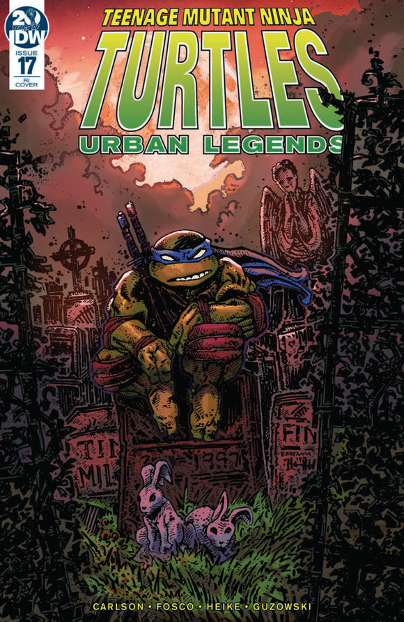 Teenage Mutant Ninja Turtles: Urban Legends (2018) #17 Kevin Eastman Variant
