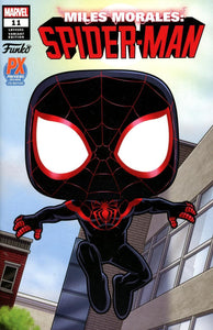 Miles Morales: Spider-Man (2019) #11 PX Previews Exclusive Funko Variant