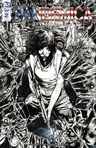 Pandemica (2019) # 2 (of 5) B&W Retailer Incentive Variant