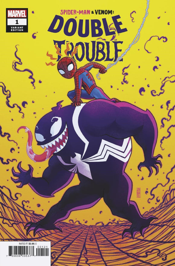 Spider-Man & Venom: Double Trouble (2019) #1 (of 4) Jen Bartel Variant