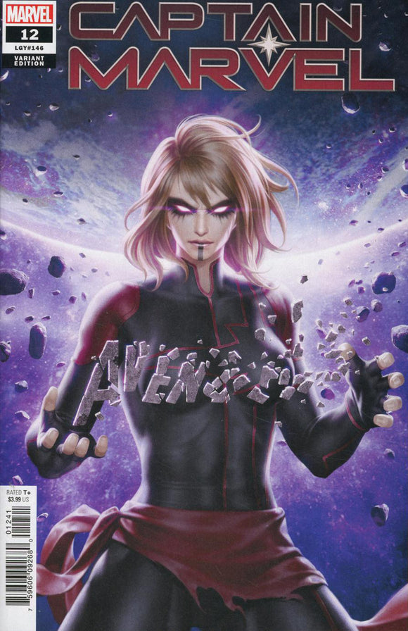 Captain Marvel (2019) #12 Jung-Geun Yoon Variant