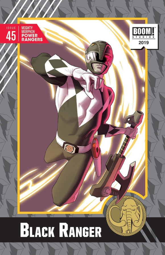 Mighty Morphin Power Rangers (2016) #45 Kris Anka Trading Card Variant