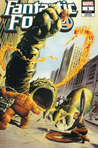Fantastic Four (2018) # 1 Alex Ross Art Exclusive Variant