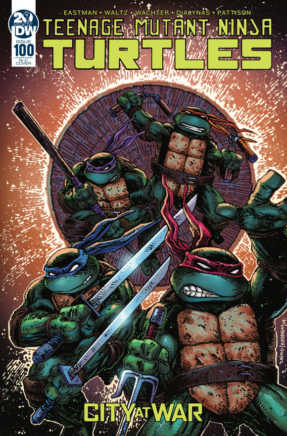 Teenage Mutant Ninja Turtles (2011) #100 RI-C Kevin Eastman Variant