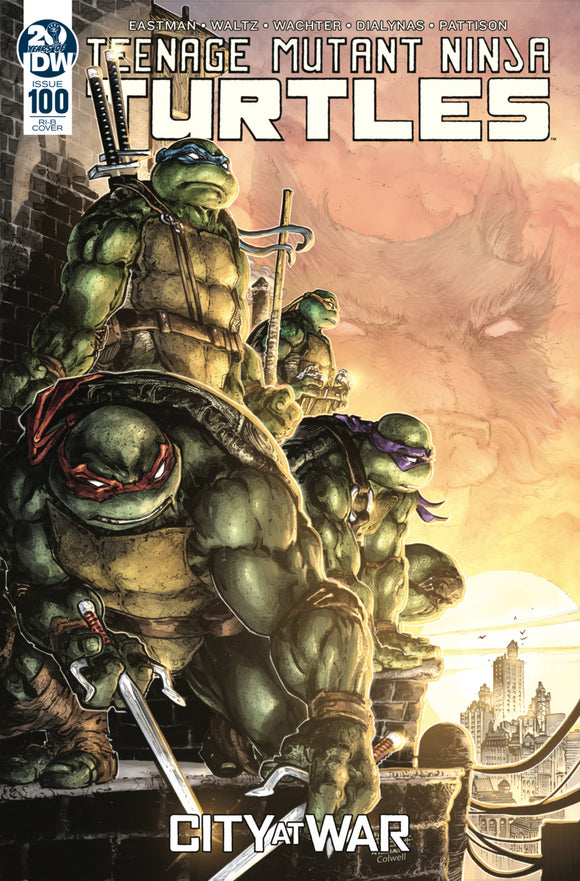 Teenage Mutant Ninja Turtles (2011) #100 RI-B Freddie E Williams Variant