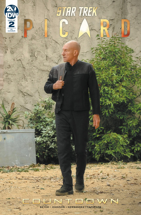 Star Trek: Picard Countdown (2019) #2 (of 3) Photo Variant