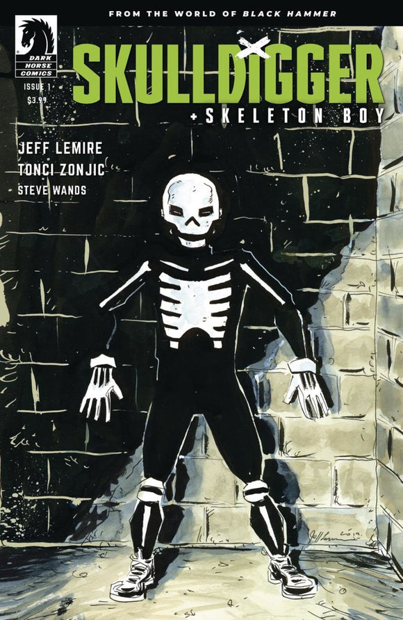 Skulldigger & Skeleton Boy (2019) #1 (of 6) Jeff Lemire Variant