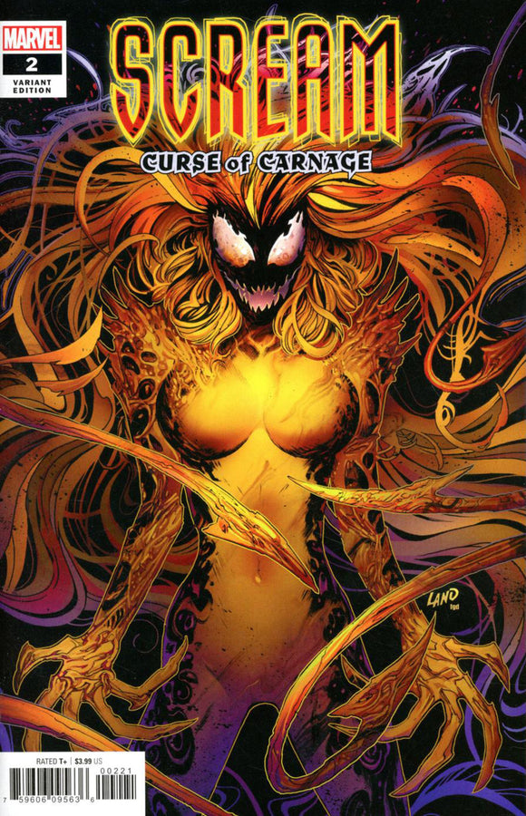 Scream: Curse of Carnage (2019) # 2 Greg Land Variant