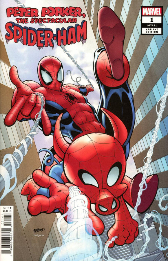 Spider-Ham (2019) #1 (of 5) Will Robson Variant