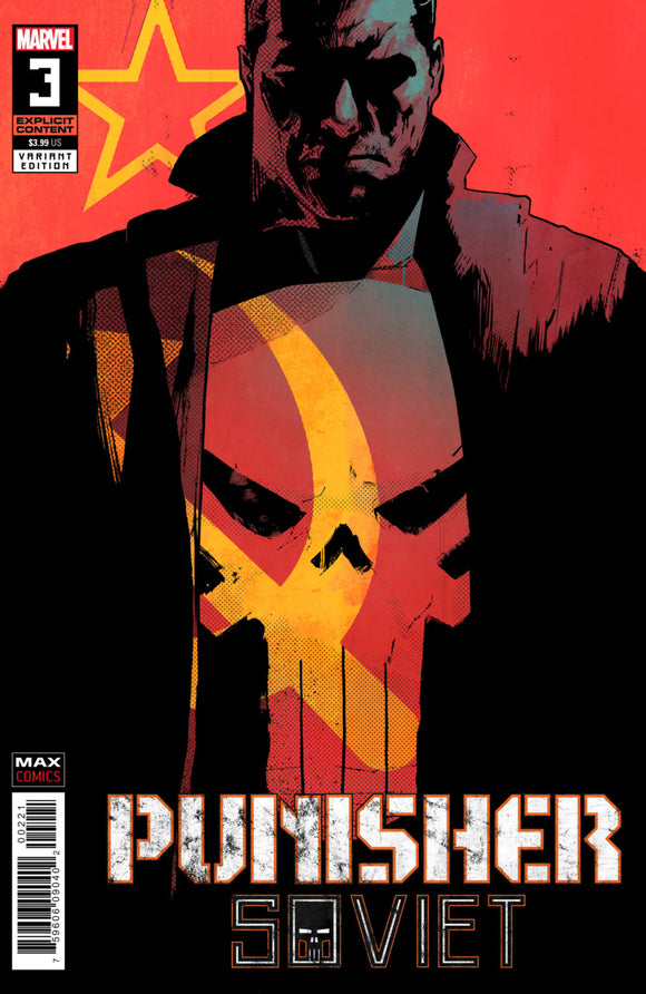 Punisher: Soviet (2019) #3 (of 6) Mike Dowling Variant