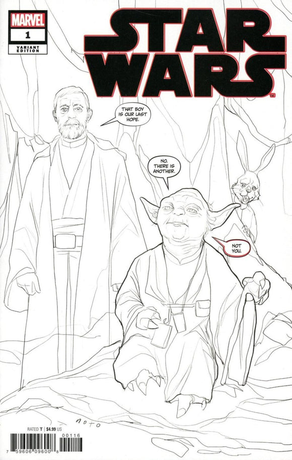 Star Wars (2020) # 1 Phil Noto Party Sketch Variant