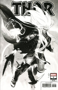 Thor (2020) # 1 Nic Klein Party Sketch Variant