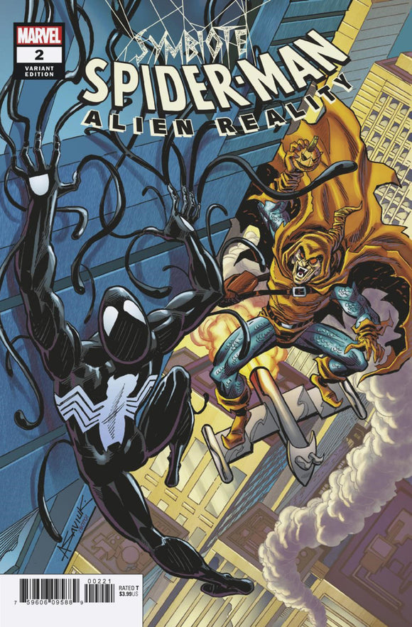 Symbiote Spider-Man: Alien Reality (2019) #2 (of 5) Alex Saviuk Variant