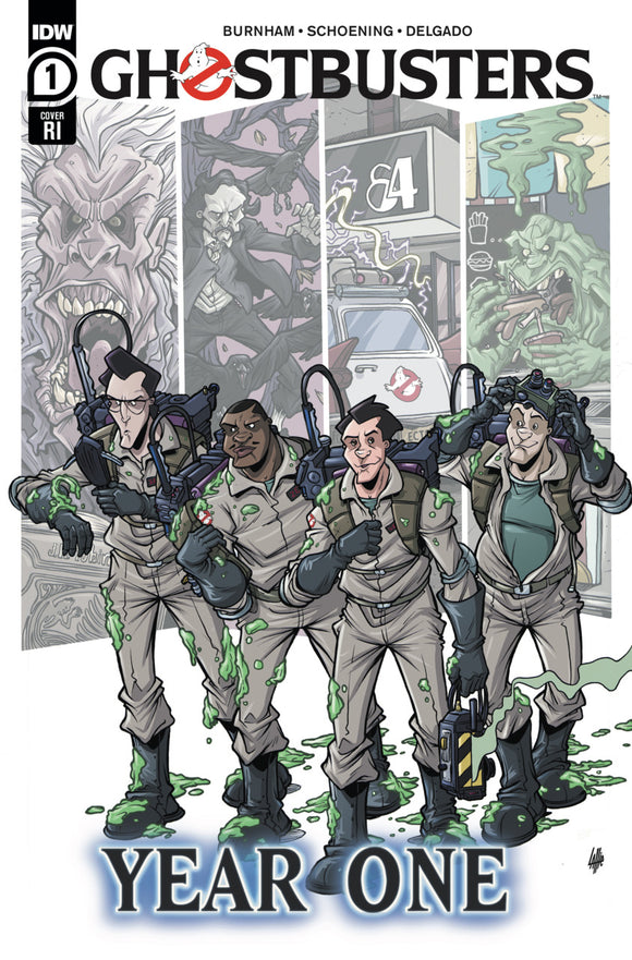 Ghostbusters: Year One (2020) #1 Tim Lattie Variant