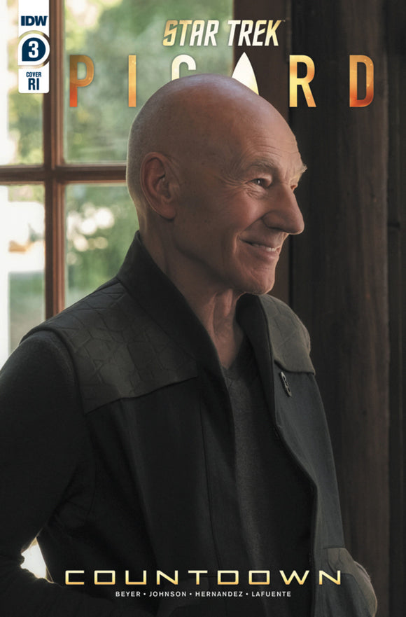 Star Trek: Picard Countdown (2019) #3 (of 3) Photo Variant