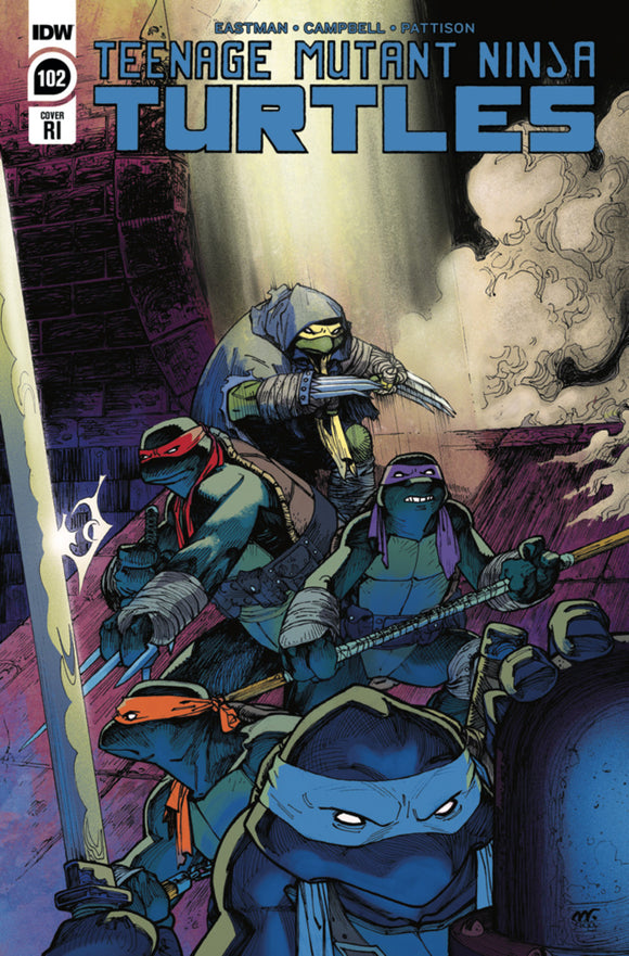 Teenage Mutant Ninja Turtles (2011) #102 Matthew Roberts Variant
