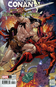 Conan: Battle for the Serpent Crown (2020) #1 (of 5) Tony Daniel Variant