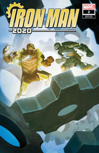Iron Man 2020 (2020) #2 (of 6) Michael Del Mundo Variant