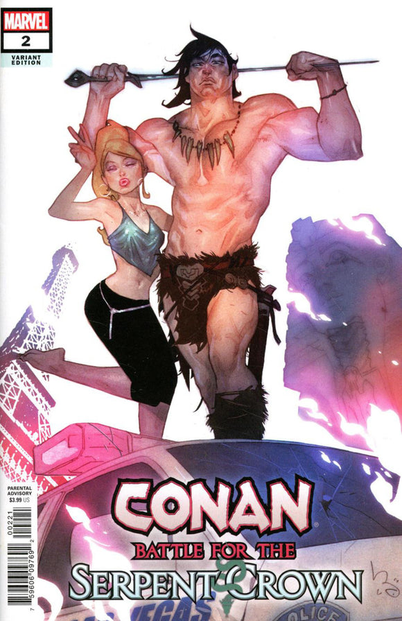 Conan: Battle for the Serpent Crown (2020) #2 (of 5) Ben Caldwell Variant