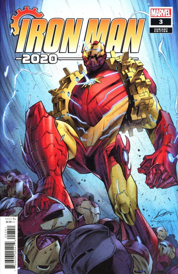 Iron Man 2020 (2020) #3 (of 6) Alexander Lozano Variant