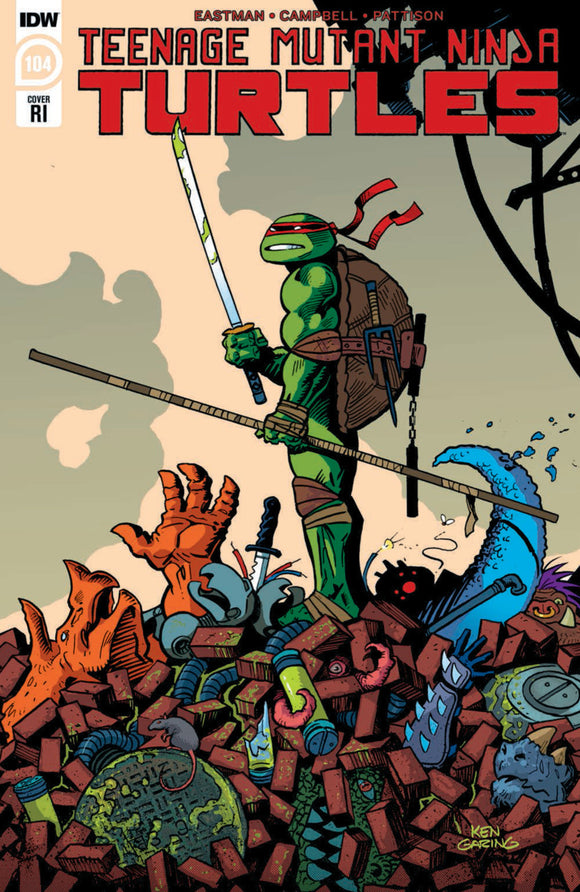 Teenage Mutant Ninja Turtles (2011) #104 Ken Garing Variant