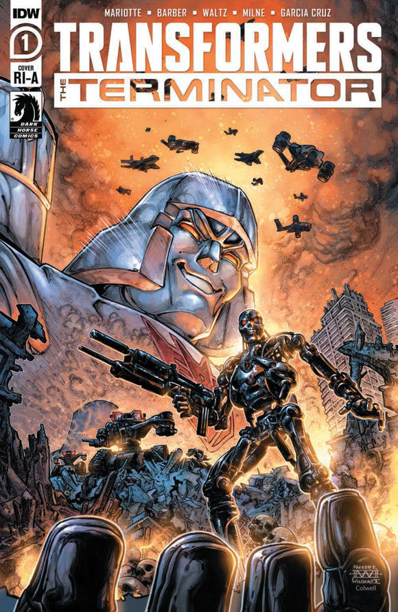 Transformers vs The Terminator (2020) #1 Freddie Williams Variant