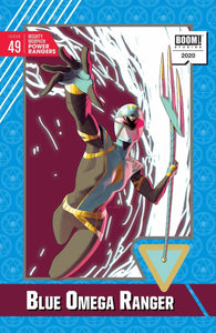 Mighty Morphin Power Rangers (2016) #49 Kris Anka Trading Card Variant