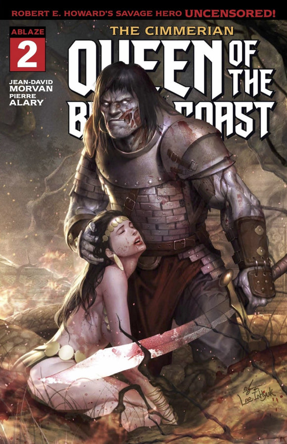 Cimmerian: Queen of the Black Coast (2020) # 2 In-Hyuk Lee Foil Logo Variant