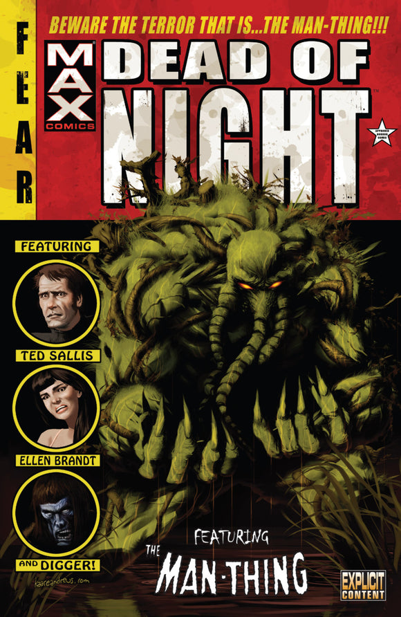 Dead of Night Featuring The Man-Thing TPB