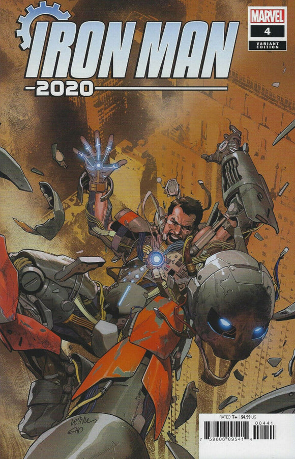 Iron Man 2020 (2020) #4 (of 6) Leinil Francis Yu Variant