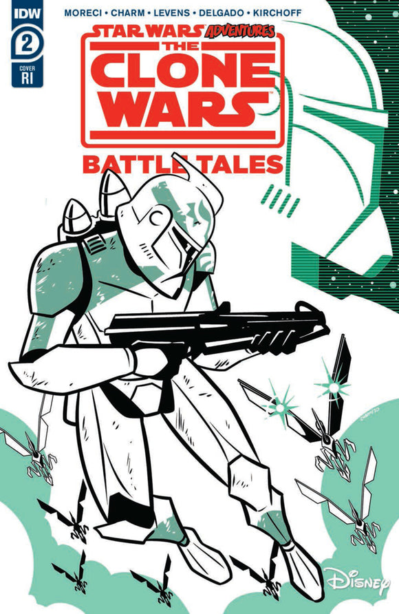 Star Wars Adventures: The Clone Wars-Battle Tales (2020) #2 (of 5) RI Variant