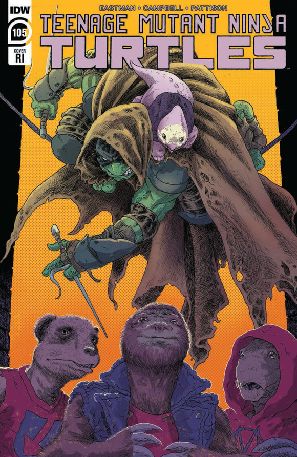 Teenage Mutant Ninja Turtles (2011) #105 Ramon Villalobos Variant