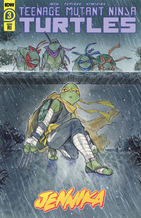 Teenage Mutant Ninja Turtles: Jennika (2020) #3 (of 3) Peach Momoko Variant