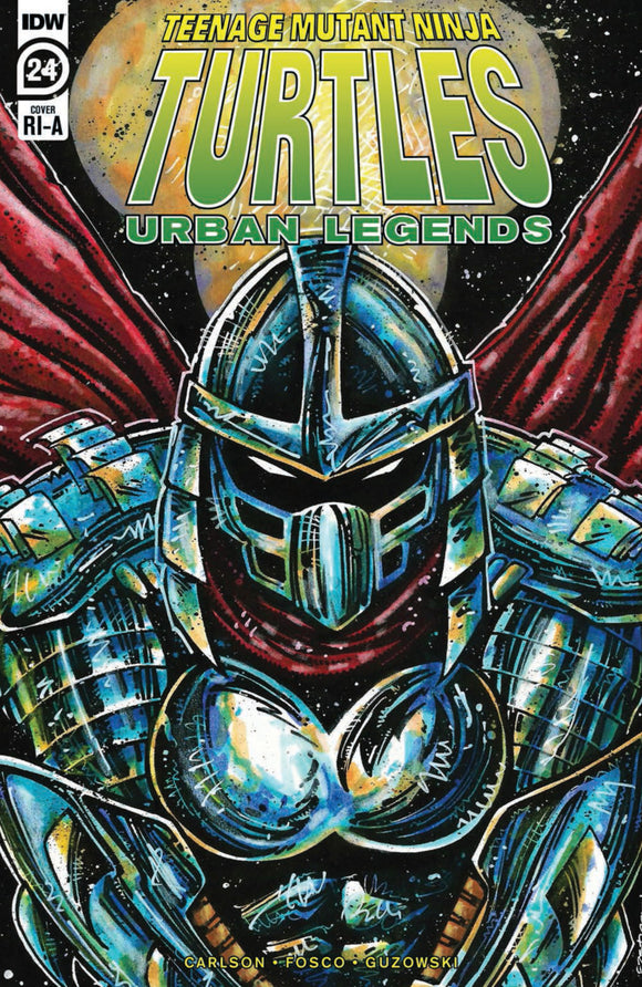 Teenage Mutant Ninja Turtles: Urban Legends (2018) #24 Kevin Eastman Variant