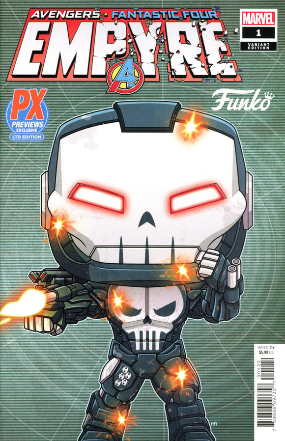 Empyre (2020) #1 (of 6) Funko Pop Previews Variant