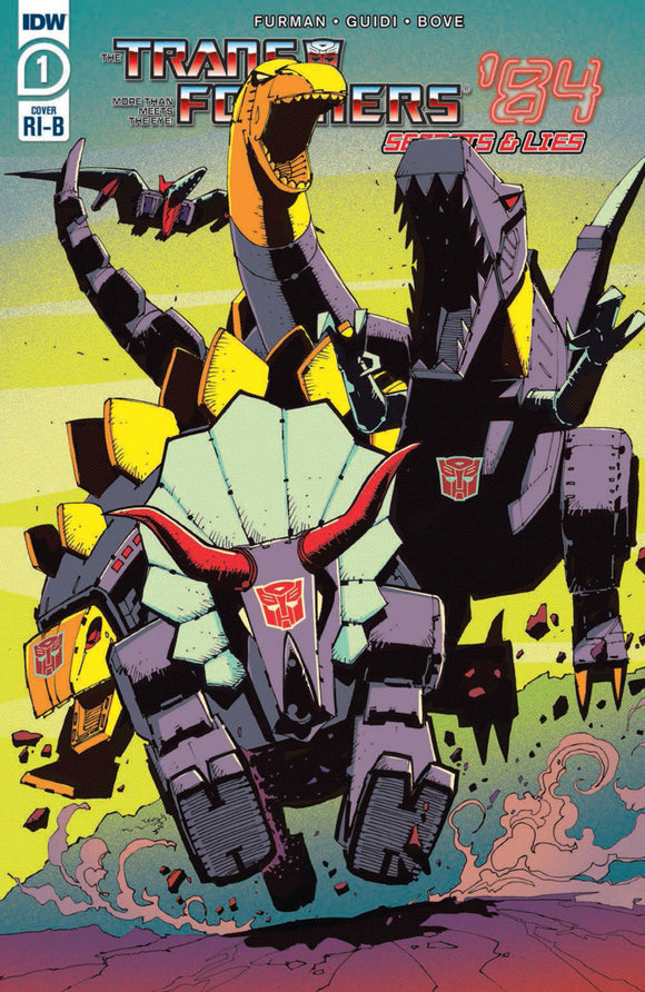 Transformers '84: Secrets & Lies (2020) #1 Geoff Senior Variant