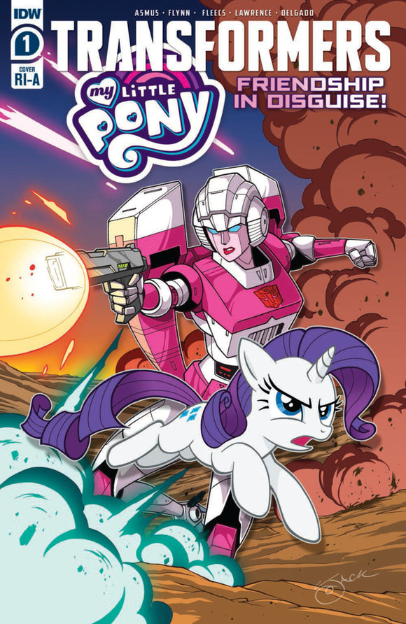My Little Pony/Transformers (2020) # 1 (of 4) Jack Lawrence Variant
