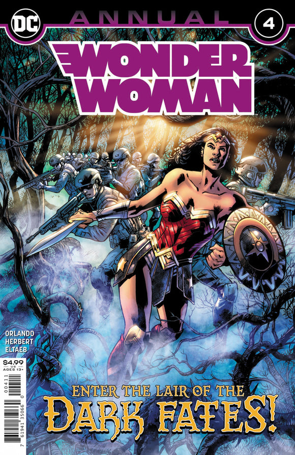 Wonder Woman (2016) Annual #4