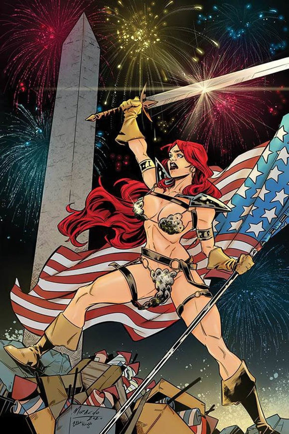 Red Sonja (2019) #18 Alessandro Miracolo Virgin Variant