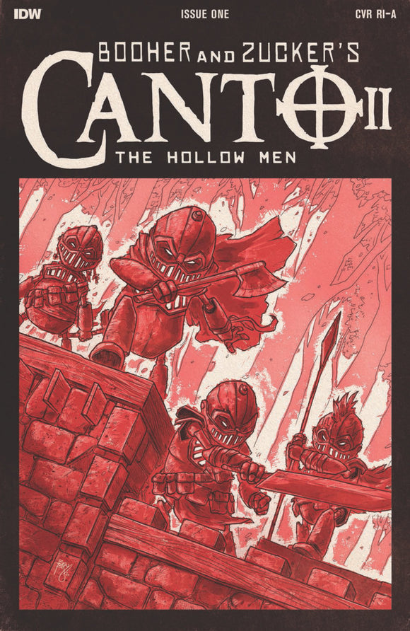 Canto II: The Hollow Men (2020) #1 (of 5) Ben Bishop TMNT Homage Variant